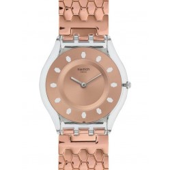 Swatch Ladies Red Fort Watch SFE100GB
