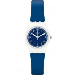 Swatch Squirolino Blue Strap Watch LW152