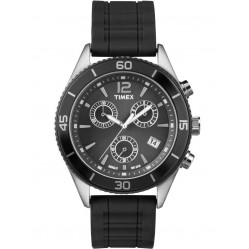 Timex Mens Sport Chronograph Strap Watch T2N826