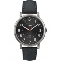 Timex Originals Mens Leather Strap Watch T2P219