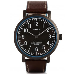 Timex Originals Mens Black Outlined Watch T2P506