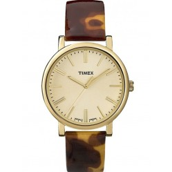 Timex Originals Unisex Gold Plated Watch T2P237