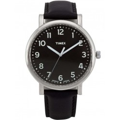 Timex Originals Mens Black Watch T2N339
