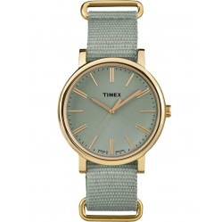 Timex Originals Ladies Gold Plated Strap Watch TW2P88500