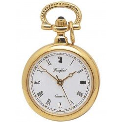 Harris Brothers Gold Plated Round Pendant Watch 1217