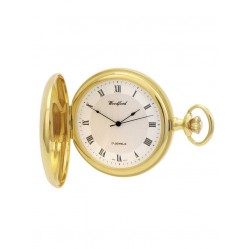 Woodford Gold Plated Round Pocket Watch 1028