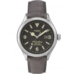 Timex Waterbury Mens Leather Strap Watch TW2P75000