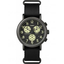 Timex Originals Mens Black Chronograph Strap Watch TW2P71500