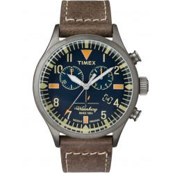 Timex Waterbury Mens Chronograph Strap Watch TW2P84100