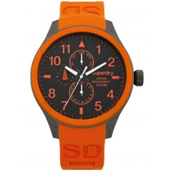 Superdry Mens Scuba Multi Dial Watch SYG110O