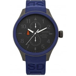 Superdry Mens Scuba Multi Dial Watch SYG110U