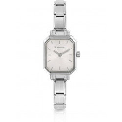 Nomination CLASSIC Paris Silver Rectangular Dial Bracelet Watch 076030/017