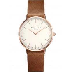 ROSEFIELD Ladies Brown Tribeca Watch TWBRRC-T55