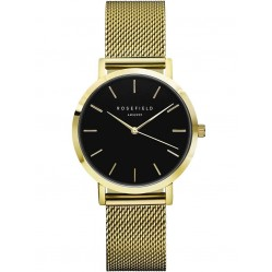 ROSEFIELD Ladies Gold Plated Tribeca Mesh Watch TBG-T60