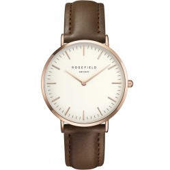 ROSEFIELD Ladies Brown Bowery Watch BWBRR-B3