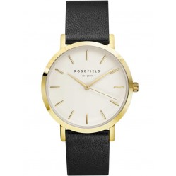 ROSEFIELD Ladies Gold Plated Gramercy Watch GWBLG-G32