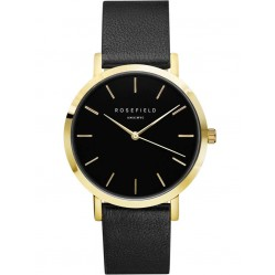ROSEFIELD Ladies Black Gramercy Watch GBBLG-G36
