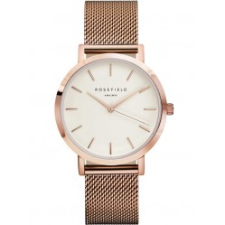 ROSEFIELD Ladies Rose Gold Plated Mercer Watch MWR-M42