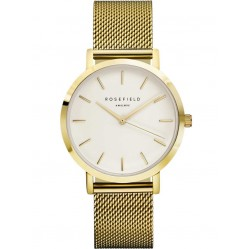 ROSEFIELD Ladies Gold Plated Mercer Watch MWG-M41