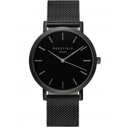 ROSEFIELD Ladies Black Mercer Watch MBB-M43