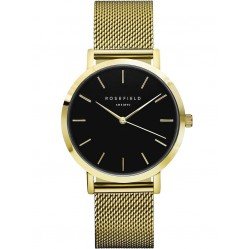 ROSEFIELD Ladies Black Mercer Watch MBG-M46