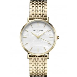 ROSEFIELD Ladies Gold Plated Upper East Side Watch UEWG-U21