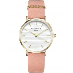 ROSEFIELD Ladies Pink West Village Watch WBPG-W72
