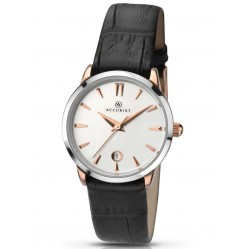 Accurist Ladies Leather Strap Watch 8073