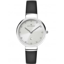 Accurist Ladies Black London Watch 8147