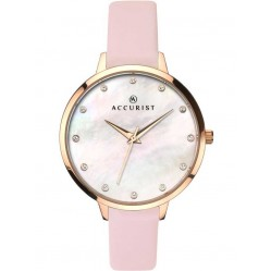 Accurist Ladies Pink London Watch 8157