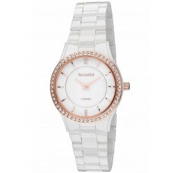 Accurist Ladies White Ceramic Watch LB1751W