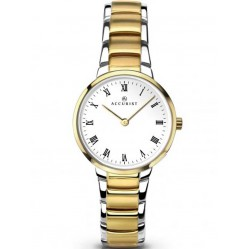 Accurist Ladies Two Tone Bracelet Watch 8129