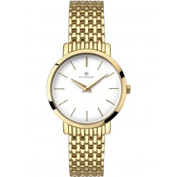 Accurist Ladies Gold London Watch 8160