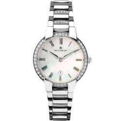 Accurist Ladies Signature Mother Of Pearl Stone Watch 8219