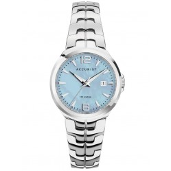 Accurist Ladies Signature Blue Mother of Pearl Dial Bracelet Watch 8336