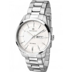 Accurist Mens Stainless Steel Watch 7056