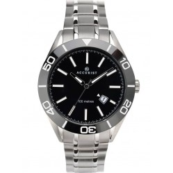 Accurist Mens Signature Black Dial Watch 7222