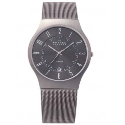 Skagen Mens Titanium Mesh Watch 233XLTTM