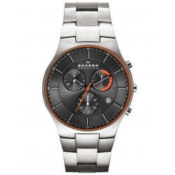 Skagen Mens Aktiv Titanium Chronograph Watch SKW6076