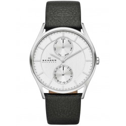 Skagen Mens Holst Black Strap Watch SKW6065