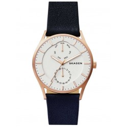 Skagen Holst Black Strap Watch SKW6372