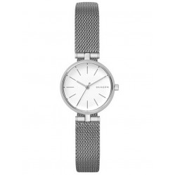Skagen Mens Signatur T-Bar Steel Mesh Bracelet Watch SKW2642