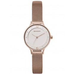 Skagen Anita Rose Gold-plated Mesh Bracelet Watch SKW2650