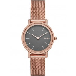 Skagen Ladies Hald Rose Gold Plated Bracelet Watch SKW2470