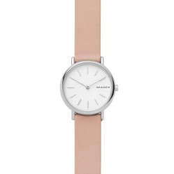Skagen Signature Pink Strap Watch SKW2695
