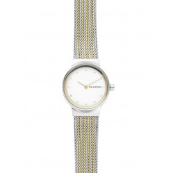 Skagen Freja Two Colour Mesh Bracelet Watch SKW2698
