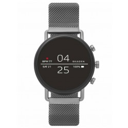 Skagen Connected Falster 2  Black Silicone Strap Smartwatch SKT5100