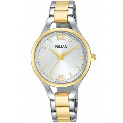Pulsar Ladies Dress Two Tone Bracelet Watch PH8186X1