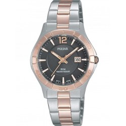 Pulsar Ladies Two Tone Bracelet Watch PH7430X1