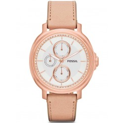Fossil Ladies' Chelsey Rose Gold Plated Watch ES3358